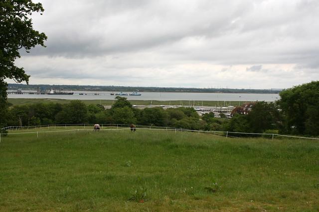 Southampton Water near Ashlett