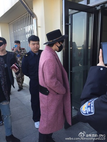 Big Bang - Harbin Airport - 21mar2015 - Kimsoohyun0223 - 08
