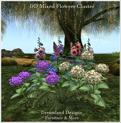 DD Mixed Flowers Cluster Vendor