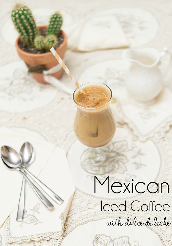 mexican iced coffee dulce de leche