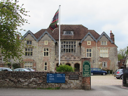 Salisbury: The Wardrobe Military Museum (Wiltshire)