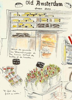 Amsterdam : fromages et tulipes