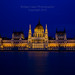 Blue Hour at Budapest Parliment by Bridget Calip - Alluring Images