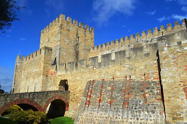 Castello S Jorge, Lisbon, Portugal