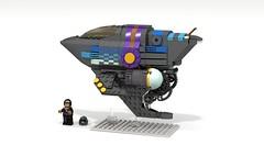 Cyberpunk Spaceship