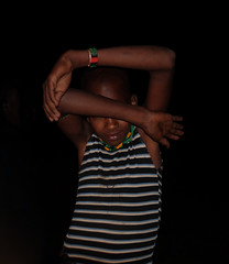 Hamar Boy, Camp, Ethiopia