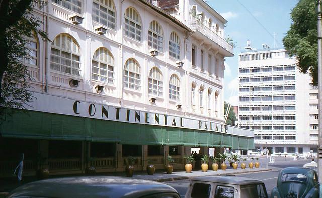 SAIGON 1965 - Continental Palace Hotel