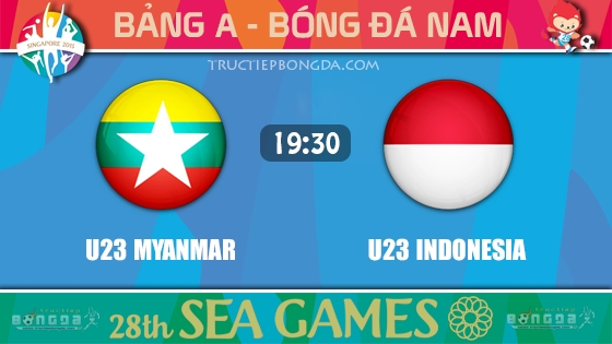 U23 Myanmar vs U23 Indonesia