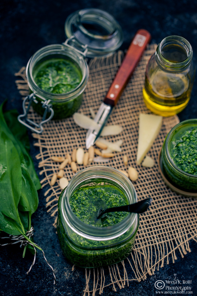 Wild Garlic Pesto-Ingredients-Meeta-Wolff-0127