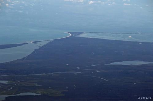 vacation geotagged florida united flight aerial windowview windowseat apalachicolabay commercialflight stjosephbay zeesstof houstontotampa