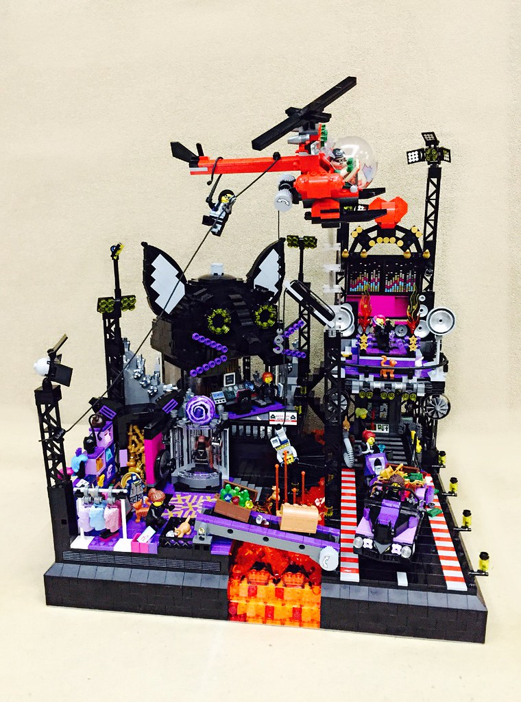Catwoman's Base (Featuring Catwoman with her henchwomen)