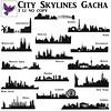 [ free bird ] City Skyline Gacha
