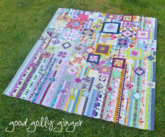 Gypsy sampler quilt