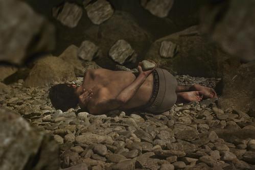 """Among the falling stones"""