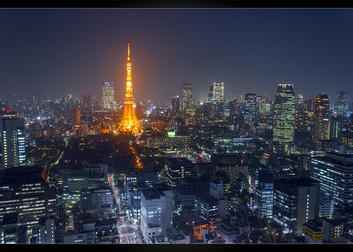 blue orange japan skyline skyscraper canon eos tokyo worldtradecenter cityscapes 日本 tokyotower roppongi 東京 tokio t3i wolkenkratzer 六本木 600d 貿易センタービル