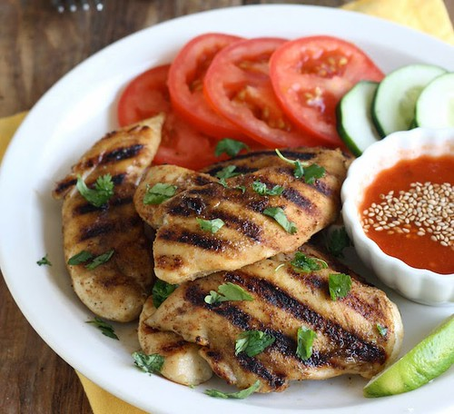 [Thailand Recipes] Grilled Chicken with Sweet Chili Dipping Sauce