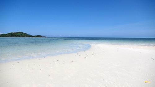 サムイ島 5月6日のチャウエンビーチ北