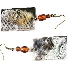 NEW LISTING on#Etsy ...organic #handmade #ceramic #earrings  #etsyau #etsyauseller #jewelryforwomen  #jewellery #jewelry  #craftsposure #craftaustralia #ourbestfinds #madeinballarat  #madeinaustralia  https://www.etsy.com/au/listing/234632948/ceramic-earr