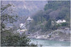 Banks of river Ganga in Rishikesh