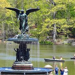 Bethesda Fountain - Central Park - #NYC #manhattan #centralpark #newyork #sculpture