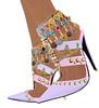 ALB RUDRAPRAYAG heels to slink high feet