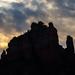 Sunrise Over the Rock