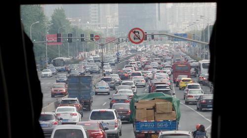 มหานครเซี่ยงไฮ้ สุดยอดรถติด