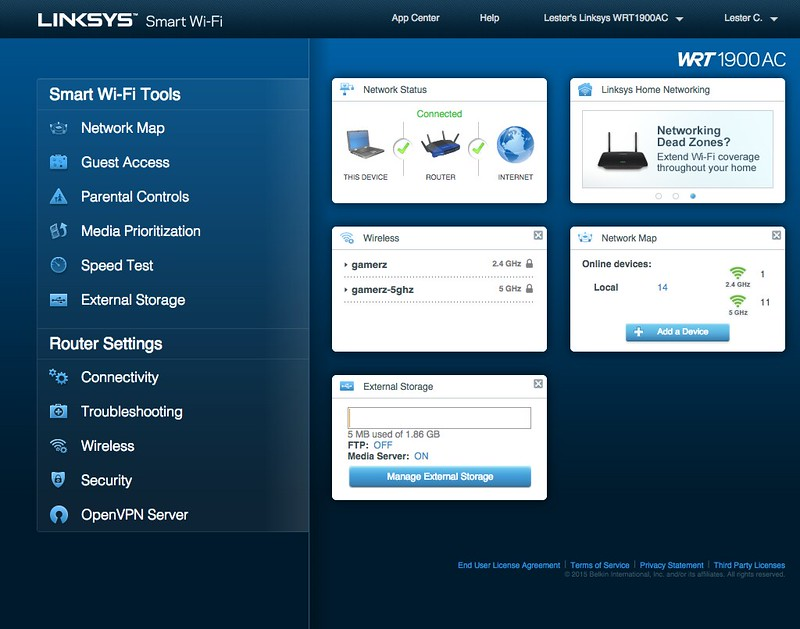 OpenVPN With Linksys WRT1900AC