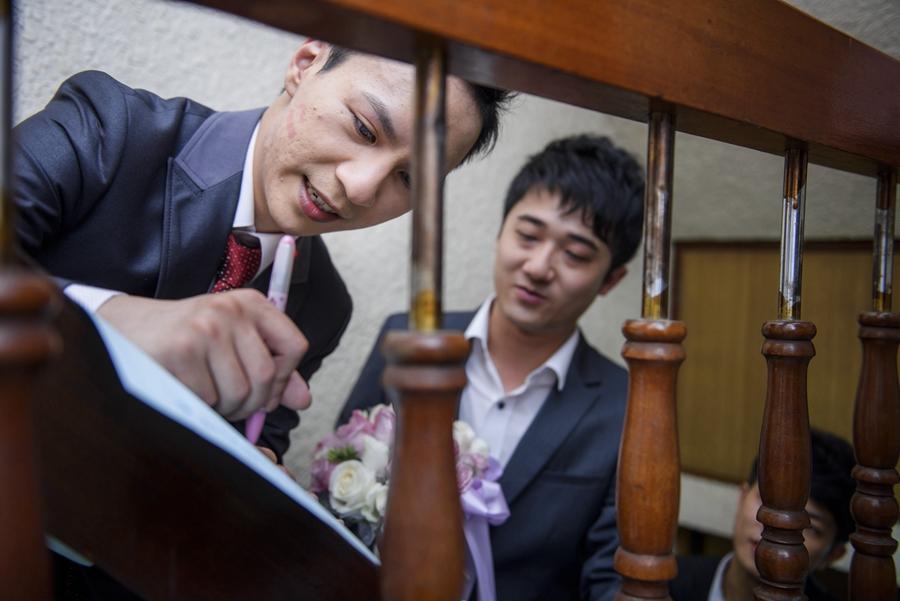 [婚攝] 文軒 & 郁樺 / 富霖華平宴會館