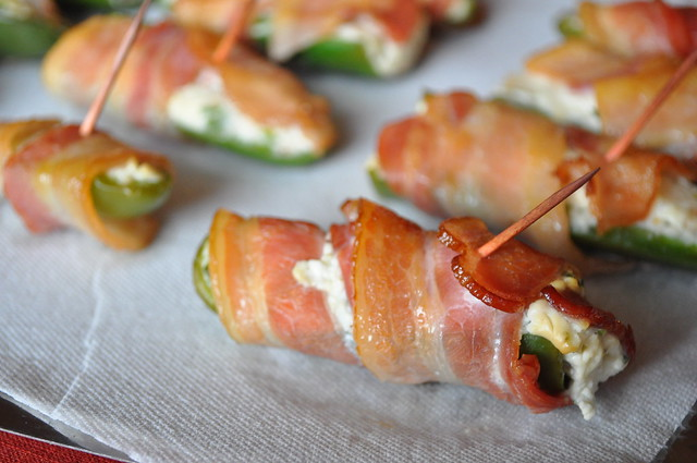 Bacon-Apple Jalapeño Poppers