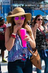 Deya and a Margarita at Edgefest