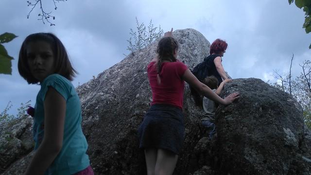 Na Donačko goro po plezalni poti