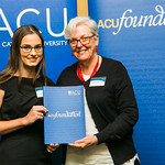 ACUscholarship2016-171 Kalina Morriss and Prof. Karen Flowers