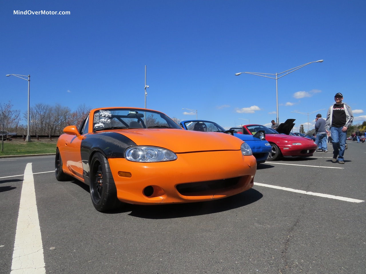 NB Orange Fiber Fender Front
