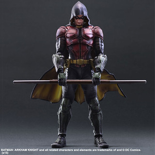 Play Arts 改【羅賓】蝙蝠俠:阿卡漢騎士 Robin
