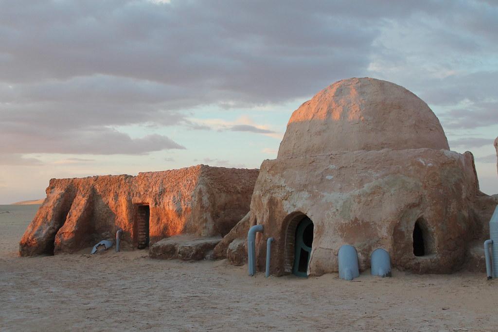 Star Treck village, Tunisia