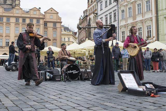 Medieval Musicians @Praha 1
