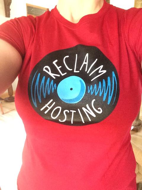 Reclaim hosting swag