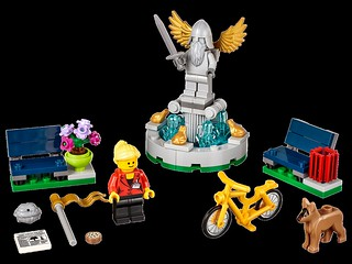 LEGO 40221 Creator Fountain