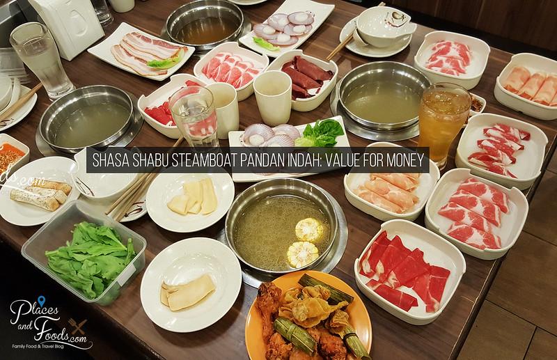 shasa shabu steamboat buffet pandah indah