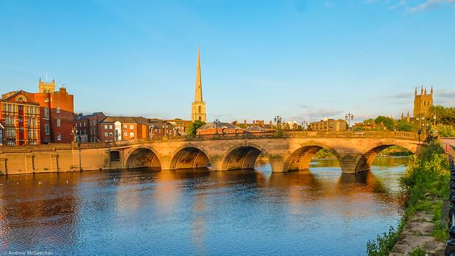 Worcester Bridge (Architect John Gwynn 1771-80)