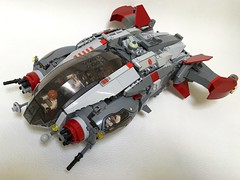 Gryphon Objective aggressive exploration vessel