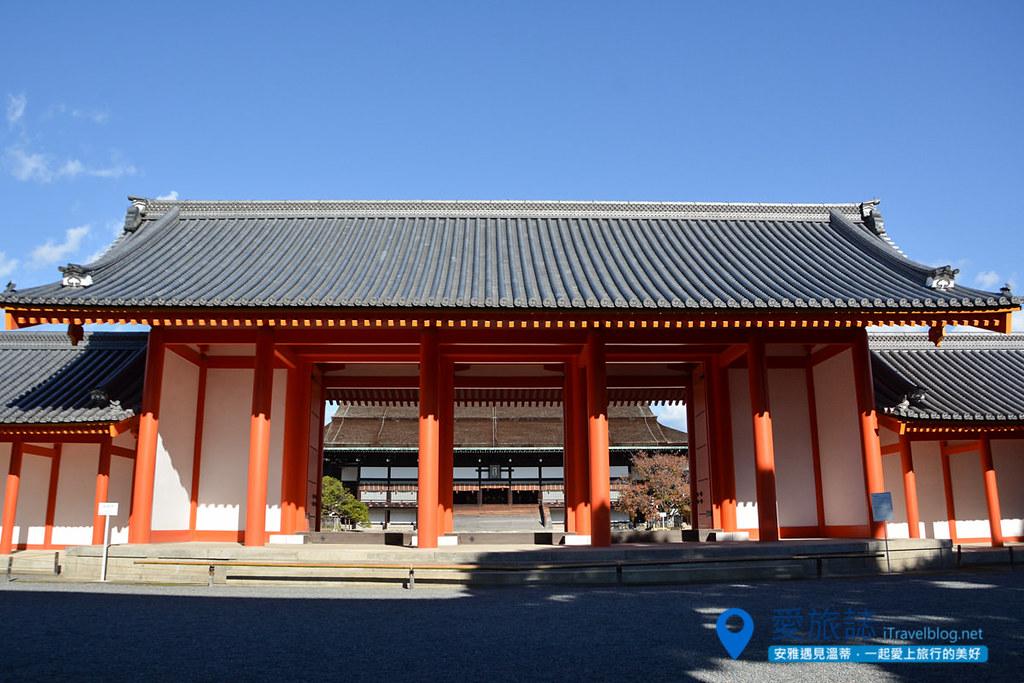 京都赏枫景点 京都御所 (1)