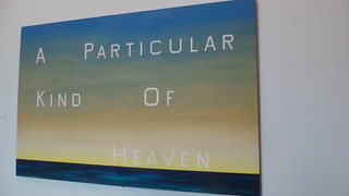Ed Ruscha, A particular kind of heaven