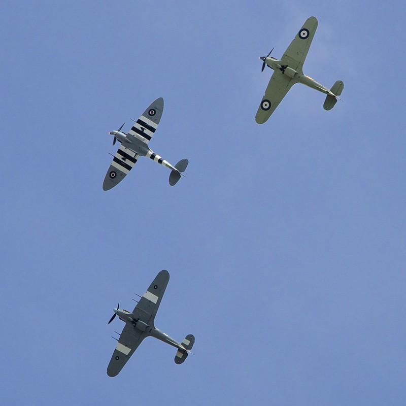 VE70 Spitfire Hurricanes