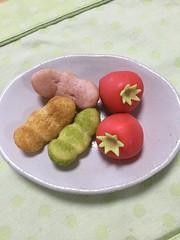 起きあがり豆やっこ 白鷺宝トマト
