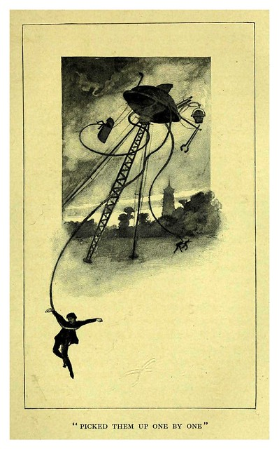 005-The war of the worlds-1898-Illust. Warwick Goble