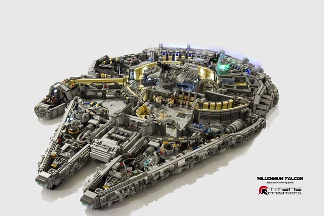 Millennium Falcon, by Titans creations, on Flickr