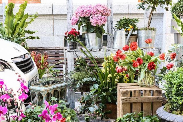 Peugeot 108 Flower Market by S Moda