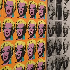 Kickin it @ the #tate 🎨👟 on a Friday night🌃What do you think, was #Warhol a talent or a hack?